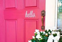 MAISON: portes.
