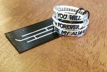 Say It On A Ring and Custom Designs / Personalized Rings! Your kids names, grandchildren, fur babies or whatever your imagination can think up! We have lots of other custom designs. Enjoy!