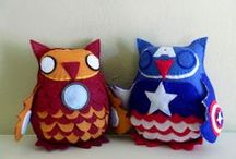 Owl party for my sis