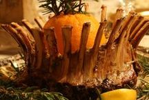 Crown Your Lamb Roast Recipes / Crown Roast: two frenched racks tied together to resemble a crown.  / by American Lamb Board