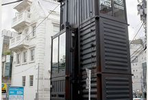 [ TIN-house ] / buildings made out of containers and other recycled materials / by [ Katrin Kontou ]