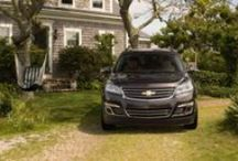 Chevy Traverse. / The Chevy Traverse!