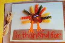 Thanksgiving crafts / by middle sister