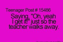 Teenager posts / Young Teen Here!!
