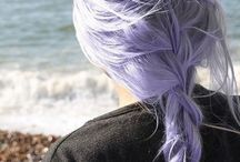 ✼ Funky Hair ✼ / After summer hair that I might get. Short hair, colourful, pink hair, blue hair etc.