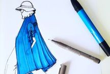 My fashion illustrations / Sketches, illustration, doodles, designs