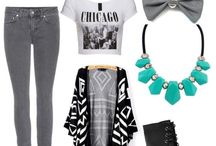 Back to School Outfits / For looking good when you come back to school!