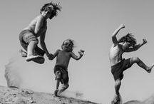 Leap / happiness fun joy jumping