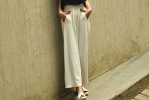 High Waist Trousers / High Waist Trousers, Culottes, Jeans