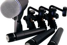 Beginner's Gear Guide: Stage Staple Microphones / When you're building a mic collection for your performance venue or portable PA rig, dynamic mics like the Shure SM58 and SM57 are hard to beat for reinforcing vocals, drums, amps and more. We've also got a few handheld condenser mics for the discerning vocalist.