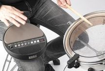 Beginner's Gear Guide: Electronic Drums / Electronic drum kits combine the sonic possibilities of an electronic module with the natural feel and playing style of an acoustic drum kit. Your first decision is whether to choose a complete electronic drum set, or a more compact one-piece electronic drum.