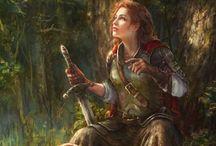 Warrior C. - Meara Blackman / Maid in lion m.