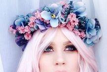 Blumenkranz Inspiration / Haarschmuck in Form von Blumenkränzen
