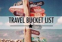 Traveling Bucket List!