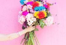 Flowers  / Flowers, bouquets , pink flowers, blumen, fleurs,fiori.