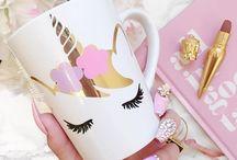 Unicorns  / Unicorns mugs, ideas , art, wallpaper