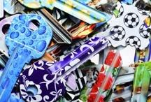 Chiavi Colorate & Fancy / All'interno di questa sezione troverete tutte le chiavi Keyline che, grazie a colori vivaci e bellissimi disegni, permettono di usare il proprio mazzo di chiavi come elemento decorativo ed estetico.