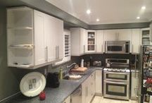 New Home Renovations Project in Oakville / Take a look at ongoing home renovation project in Oakville.