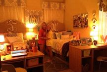 college / dorm rooms & tips for college life