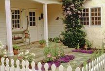 Casa, decoração e jardins