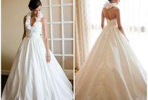 go pick out a white dress / wedding dresses