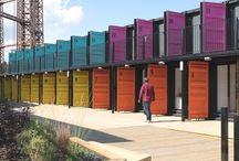 My box dreams / Hoteles y espacios de descanso hechos con containers de barco reciclados