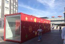 My box stand / Stands para eventos y ferias