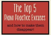 Music Practice Tips / Practicing your musical instrument (or helping your child practice) can be tough!  Here are some resources and ideas to make it easier!