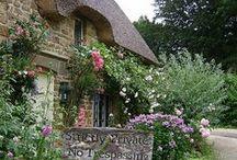 maison - house - cottage / maison de charme, cottage.....