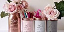 Objetos decorativos e DIY