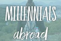Millennials Abroad / BOARD RULES: You can pin as much as you want but please no more than 5 at one time. | Please use a 5x7 image instead of a square. | To be added, please like us on Facebook and then message your Pinterest email. https://www.facebook.com/coddiwomplers/