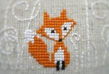 Cross stitch (and some embroidery) / Stitches