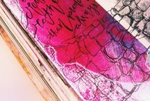 Art Journaling / ART JOURNALING INSPIRATION
