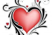 💜PAMMY--> CORAZON / Hearts hearts hearts / by PAMELA ANNE 💜 💗 💜 💗 💜