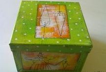 my art -scatole - boxes