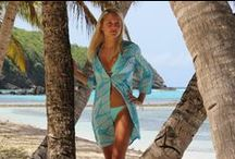Lotty B Dresses / A collection of silk shirt dresses and halter neck dresses perfect for beach to bar dressing.