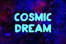 COSMIC DREAM / N'hésitez pas à vous dénuder et laissez parler votre imagination, vous aurez tout le loisir de vous peindre le corps, le visage et les cheveux !