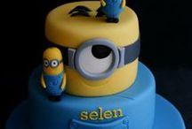idée de décoration de gâteau d'anniversaire