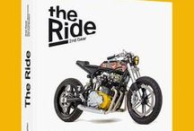 The best motorcycle books / The book of Bike EXIF is here. 'The Ride' features the world's top custom motorcycle builders and is published by Gestalten. Read all about it here: http://www.bikeexif.com/motorcycle-book / by Bike EXIF Cafe Racers and Custom Motorcycles