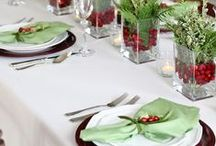 The Art of Tablescaping / Make the table warm and inviting for your next wedding, party or family get-together! Seek inspiration for colorful centerpieces with a series of these unique table settings.