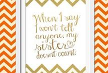 Sisters / Count me blessed to be one of four sisters. My mom is one of five sisters. I have two daughters, who happen to be sisters. :) We're a family of sisters! So, it's not surprising that I write stories that celebrate sisters.