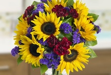 Summer bouquets / Lovely sunflowers that will make your flat shine even if you're living in a colder country;)