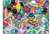 New Year's Party Supplies, Kits, Favors & Decorations / We have so many great New Year's Eve party supplies including fun decorations, favors and party kits with hats, noisemakers, confetti and more. Find all of the supplies for your upcoming New Year's party on PartySuppliesDelivered.com
