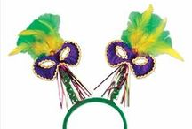 Mardi Gras Masks, Party Supplies, Favors & Decorations / We have a ton of awesome party supplies for Mardi Gras including great masks, fun decorations and party favors. Find all of the supplies for your upcoming Mardi Gras party on PartySuppliesDelivered.com