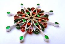 Quilled Ornaments / Quilling is my passion, and here are quilled ornaments that I have found delightful on the web.