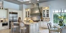 Luxury Kitchens - The Sater Design Collection / Beautiful luxurious kitchens from Sater Design Collection's award-winning luxury home designs.