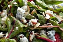 "*Salads & Dressings* / ""Green Salads, Pasta Salads.....All Kinds Of Salads And Salad Dressings"" / by Susan Carlin"