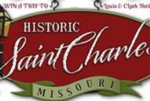 St Charles, Missouri / Home of Elsa Brantenberg's Quilting Circle in THE QUILTED HEART novellas, and the launch pad for The Boone's Lick Wagon Train Company in PRAIRIE SONG. #chrific #OregonTrail / by Mona Hodgson