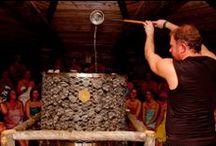 Opening Kelosauna 28 februari 2014 / Vrijdag 28 februari opende Thermen Holiday de deuren van de nieuwe Kelosauna! De Finse fabrikant Iki heeft speciaal met de hand de grootste elektrische saunakachel ter wereld vervaardigd. Deze imposante saunakachel werd geplaatst in de nieuwe Kelosauna, die gebouwd is door het team van Suomen Loghouse.