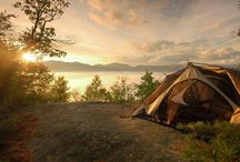 CAMPING ... the reason I live / Camping in a tent, an RV or Cabin ... just as long as I'm at the lake!